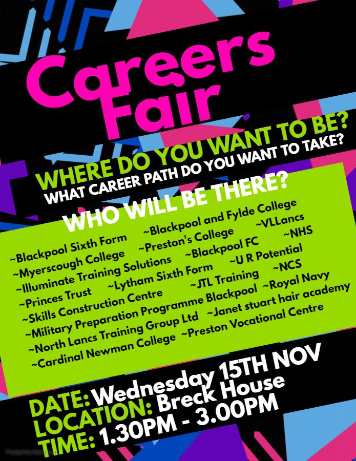 Mckee College Careers Fayre Mckee College House